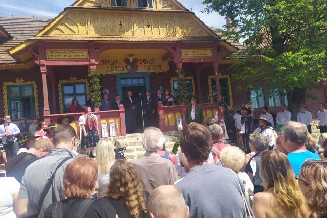Nově otevřená a zrekonstruovaná chata Libušín.