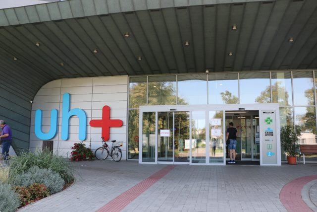 Nemocnice v Uherském Hradišti | foto: Veronika Žeravová,  Český rozhlas Zlín