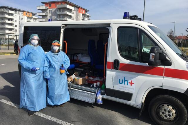 Zdravotnice z nemocnice v Uherském Hradišti