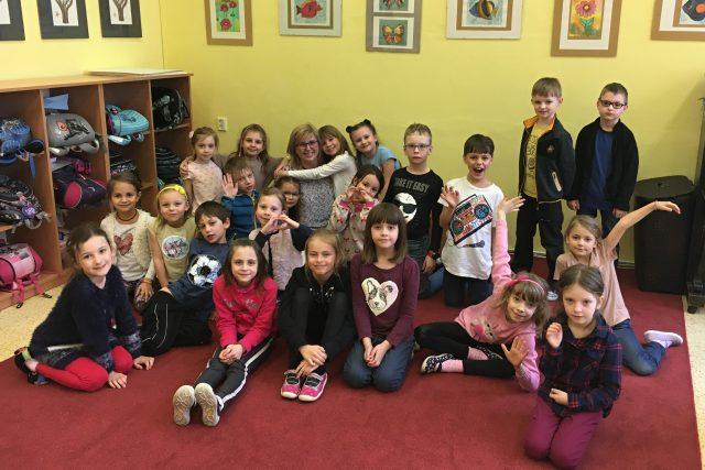 Moravské děti ze školní družiny Základní školy Komenského I. ve Zlíně