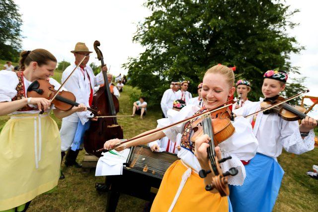 Folklorní festival ve Strážnici