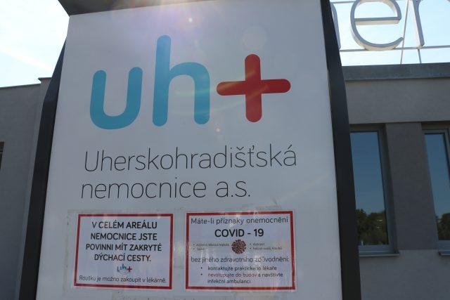 Nemocnice v Uherském Hradišti - covid
