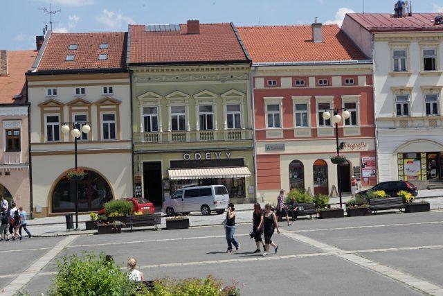 Náměstí ve Valašském Meziříčí