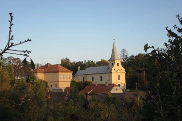 Hoštice na Kroměřížsku - kostel