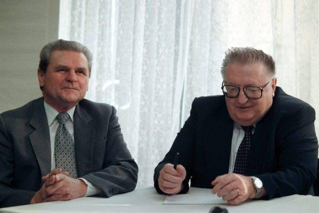 František Trnka a František Čuba (1998)