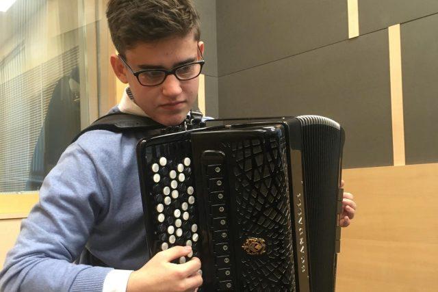 Akordeonista Martin Kot