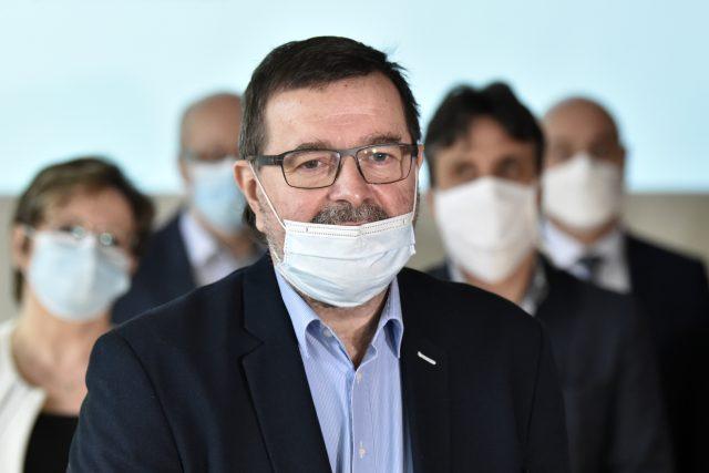 Ředitel Krajské nemocnice Tomáše Bati ve Zlíně Michal Filip   foto: Dalibor Glück,  ČTK