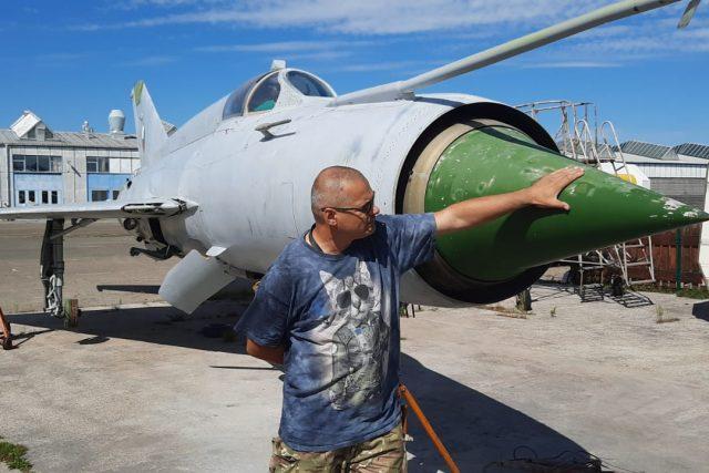 Letecké muzeum v Kunovicích - oprava a renovace stíhačky MiG-21 MF