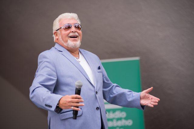 V Lázních Teplice v Čechách vystoupil zpěvák Milan Drobný
