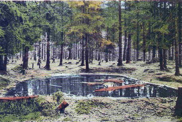 Valašské Mořské oko na Pustevnách, archivní fotografie