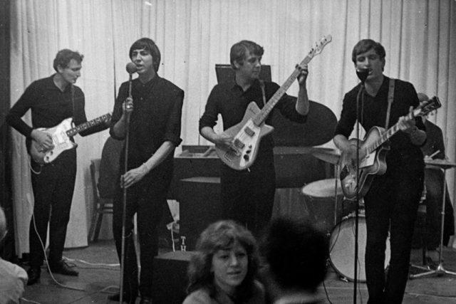 Undertakers v sále na Ořechovce, rok 1965
