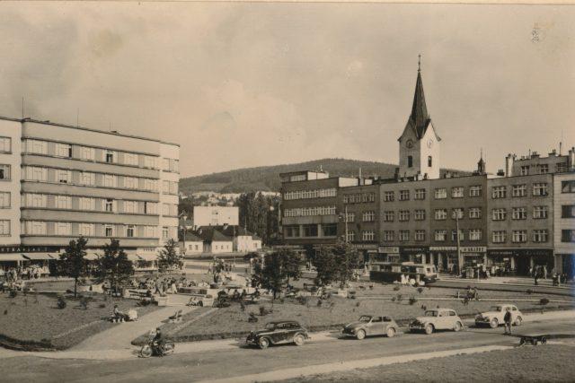 Trantírkův dům ve Zlíně v roce 1943