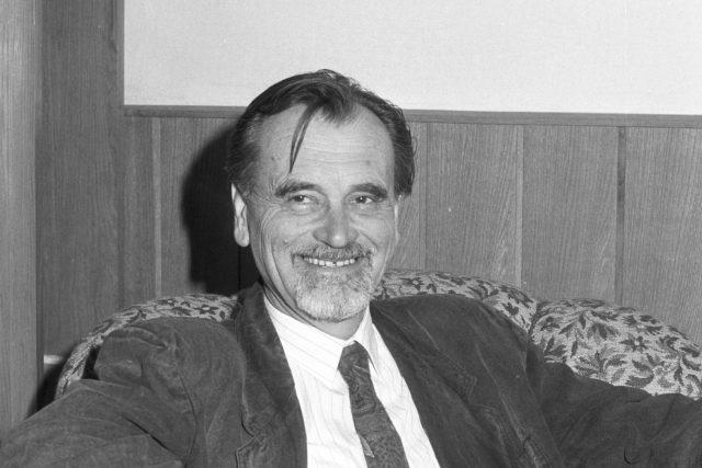 Dr. Jaroslav Štika, CSc., ředitel Valašského muzea v přírodě, 10.1994