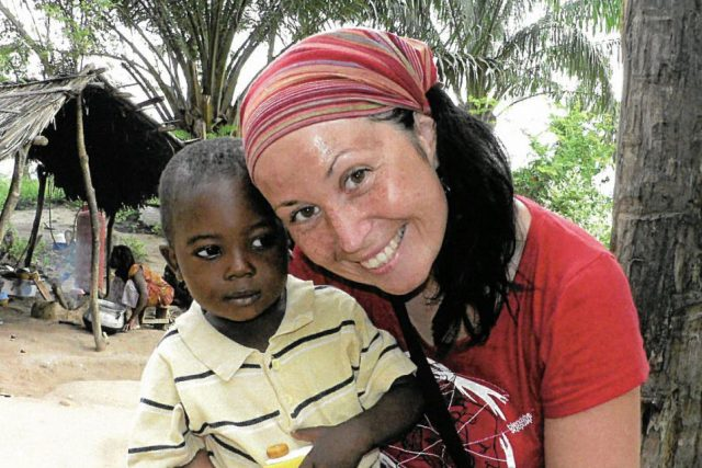 Gabriela Netopilová Sluštíková jako dobrovolnice v sirotčinci v Ghaně | foto: z archivu Gabriely Netopilové Sluštíkové