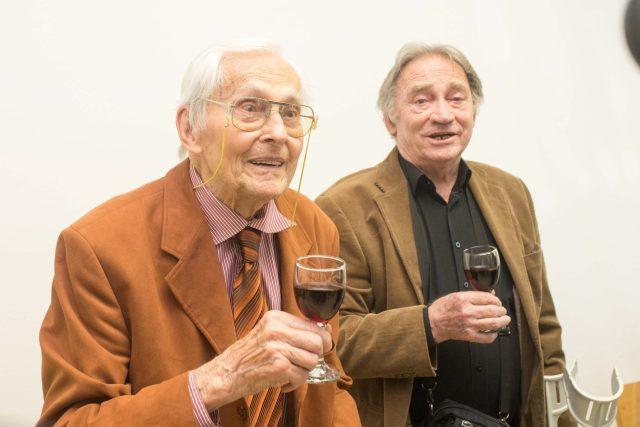 Karel Pavlištík s Miroslavem Zikmundem