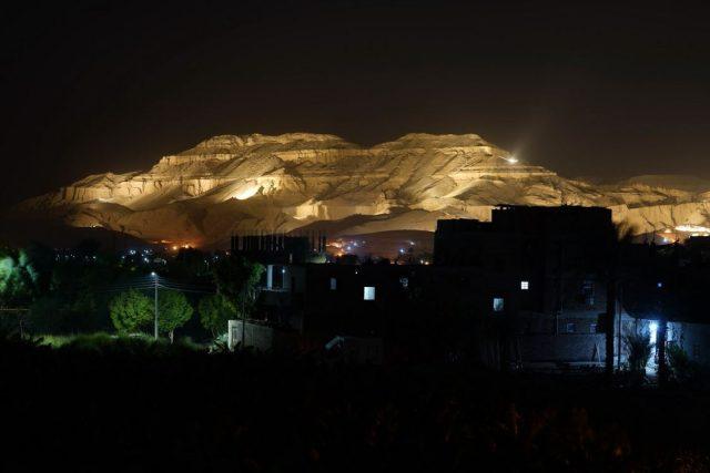 Expedice Z101,  Egypt,  Údolí králů v noci | foto: Expedice Z101  (bodhi.style s.r.o.)