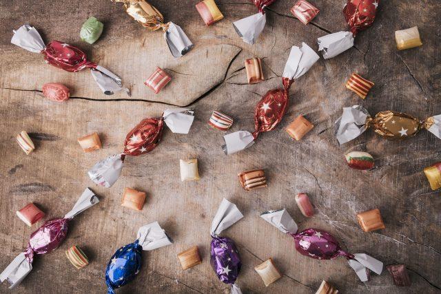 Bonbony, karamelky