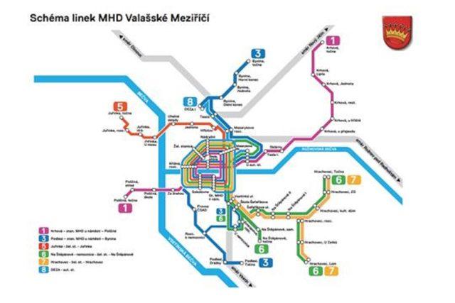 Linky MHD ve Valašském Meziříčí