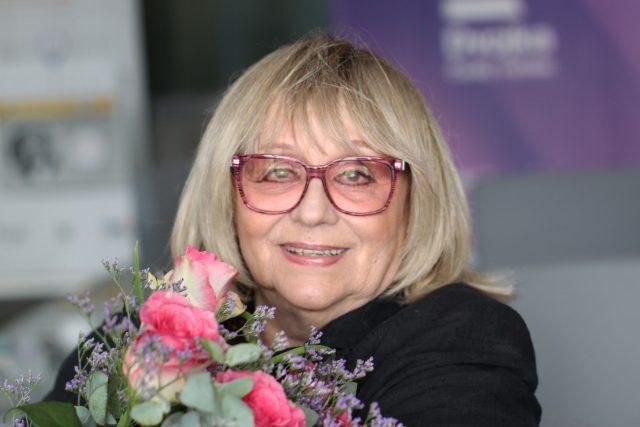 Naďa Urbánková   foto: Elena Horálková,  Český rozhlas