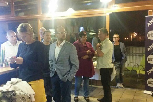 Politici ANO ve Zlíně