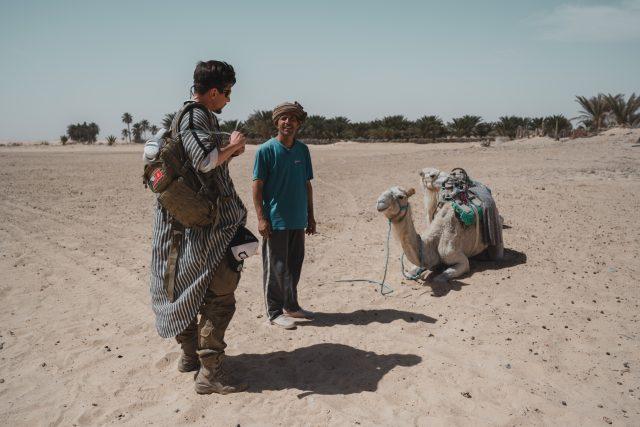 Tunisko,  poušť  (foto z Expedice Z101 v roce 2021) | foto: Expedice Z101  (bodhi.style s.r.o.)