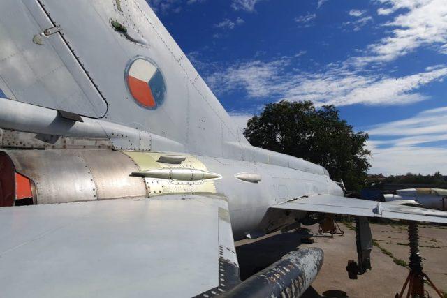 Stíhačka MiG-21 MF - oprava a renovace v Leteckém muzeu v Kunovicích | foto: Michal Sladký,  Český rozhlas Zlín