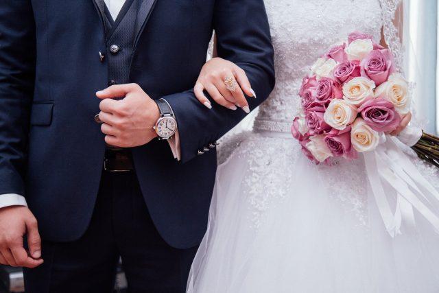 Svatba (ilustrační)