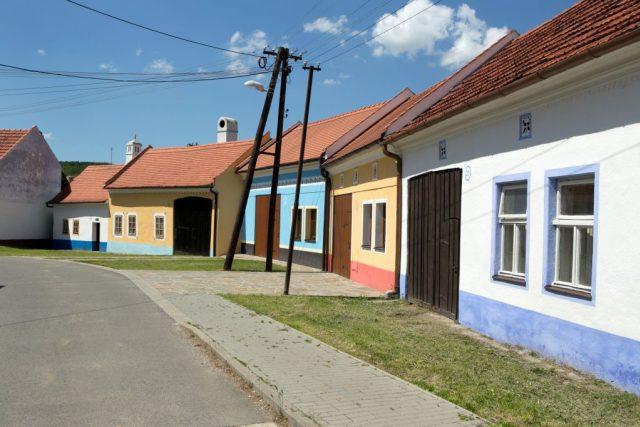 Památkové domy v Hluku