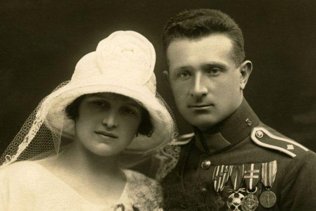 Svatební fotografie Ireny a Ludvíka Svobodových | foto: Muzeum Kroměřížska