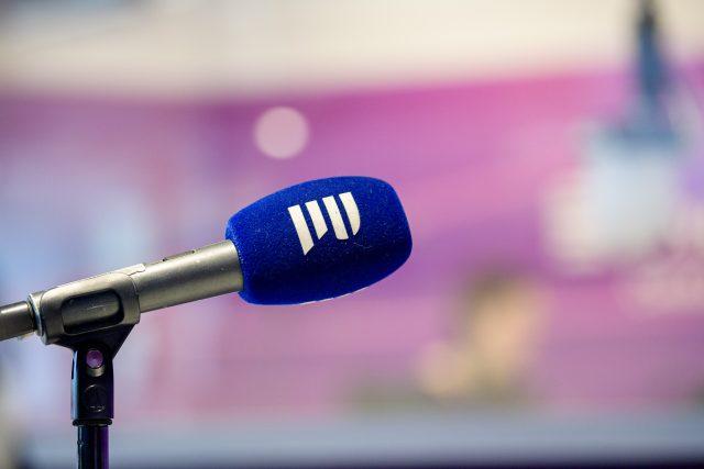 mikrofon, studio, Český rozhlas