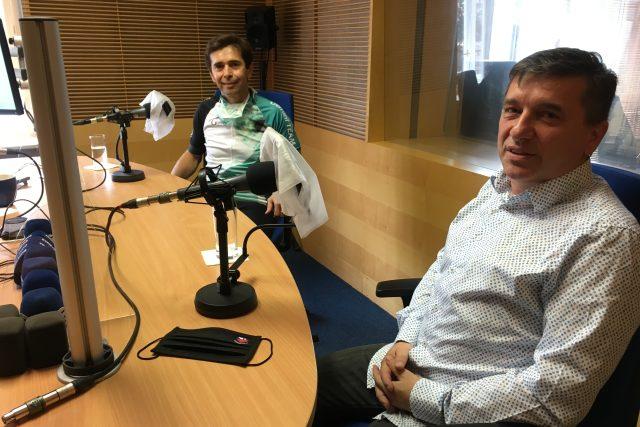 Pavel Stodůlka a Tomáš Goláň v debatě před druhým kolem senátních voleb 2020, Český rozhlas Zlín
