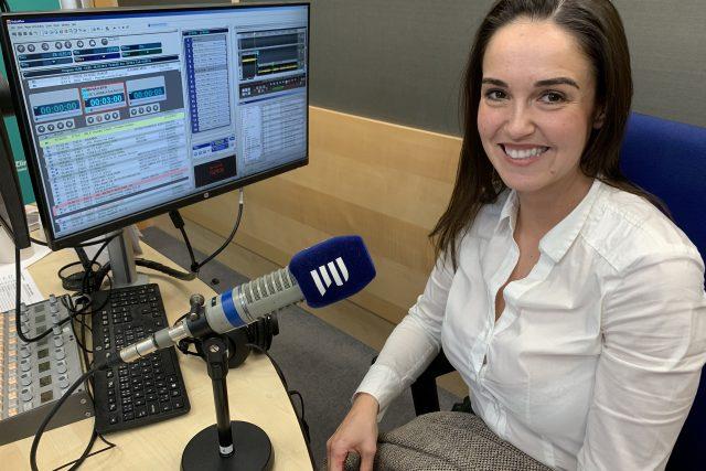 Gabriela Končitíková z Nadace T. Bati