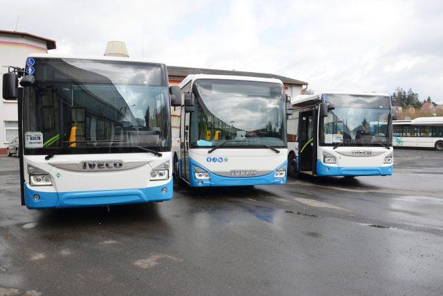 Nové autobusy pro MHD v Karlových Varech