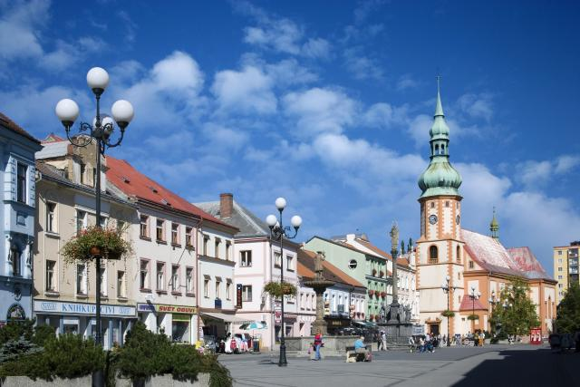 Náměstí v Sokolově (ilustrační foto)