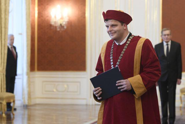 Vladimír Sedlařík při jmenování