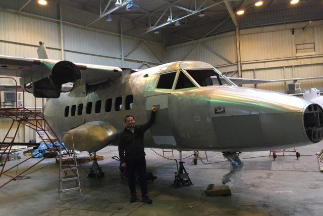 Prototyp letounu L 410 renovují v Leteckém muzeu v Kunovicích