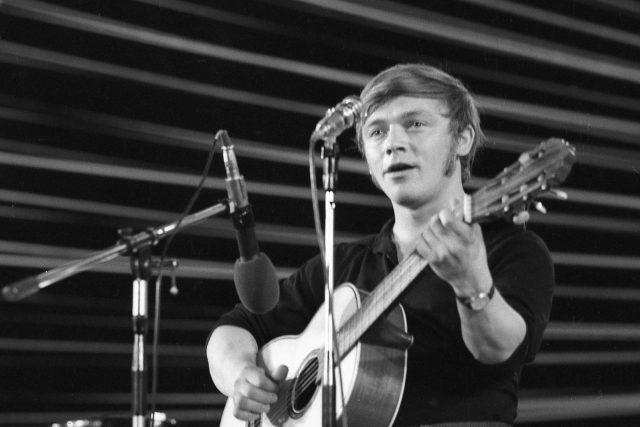 Karel Kryl na festivalu Bratislavská lyra v roce 1969