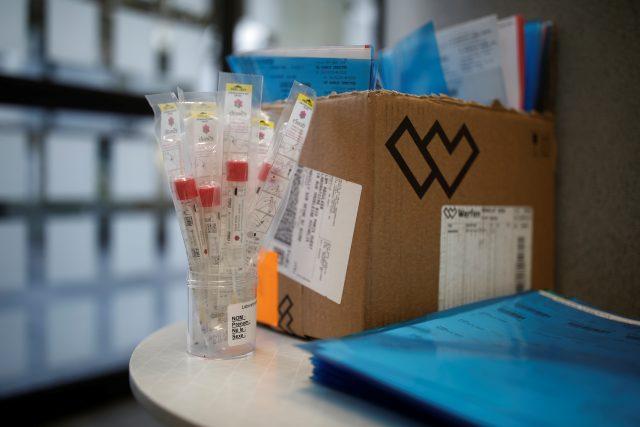 Testy na koronavirus (ilustrační foto)