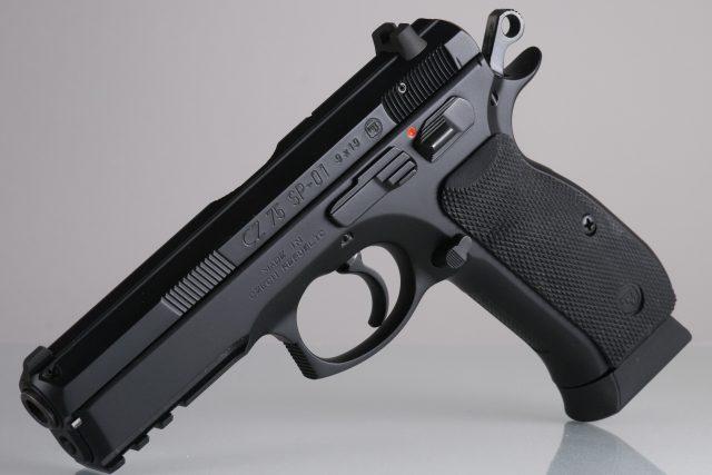 Pistole od České zbrojovky (ilustrační foto)