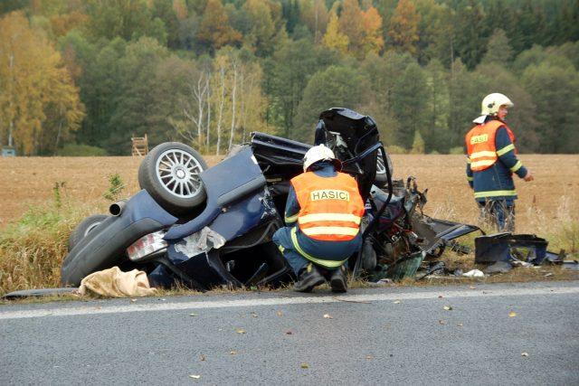 Dopravní nehoda (ilustrační snímek)