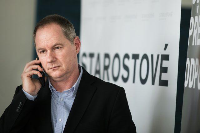Předseda hnutí STAN Petr Gazdík (ilustrační foto).
